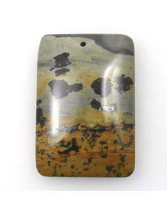 Pendant Bead - Chinese Painting Stone (P113)