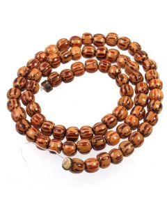 Palmwood 5-6mm (approx) Round Beads