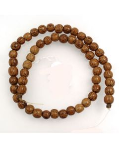 Palmwood 8mm (approx) Round Beads