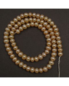 Natural Freshwater Button Pearl