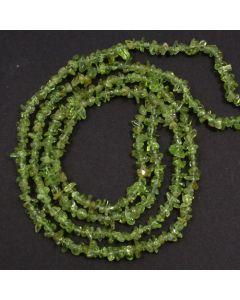 Peridot 3x5mm Chip Beads