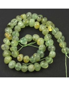 Prehnite 10-8mm (Approx) Nugget Beads