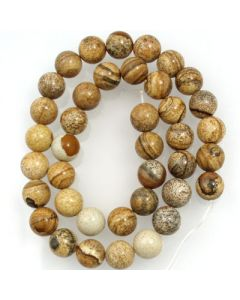 Picture Jasper Beads
