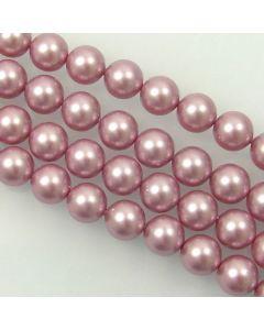 Swarovski® Crystal Pearls 8mm Powder Rose - Pack of Ten