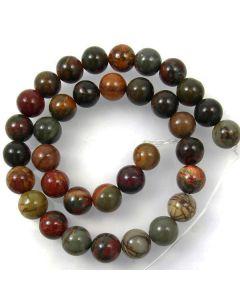 Creek Jasper 12mm Round Beads