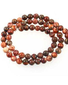 Leopardskin Jasper 6mm beads