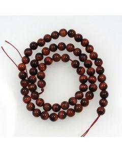 Red Tigereye Beads