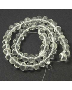 Rock Crystal 10x8mm (Approx) Nugget Beads