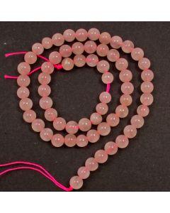 Rose Quartz 6mm Round Beads