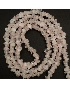 Rose Quartz 5x8mm Chip Beads