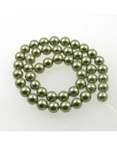 Shell Pearl Green 8mm