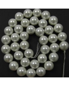 Shell Pearl White 10mm