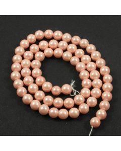 Shell Pearl Rose Pink 6mm