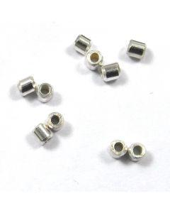 Sterling Silver Crimp Beads 2