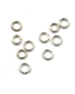 Sterling Silver Open Jump Ring 01