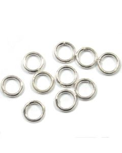 Sterling Silver Open Jump Ring 02