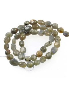 Labradorite 6x8mm (approx) Small Nugget Beads