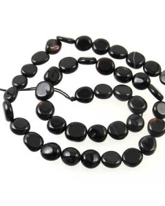 Black Onyx 10x7mm (approx) Nugget Beads