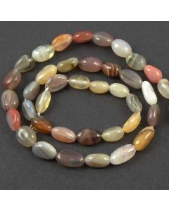 Botswana Agate Small 8x10mm Nugget Beads
