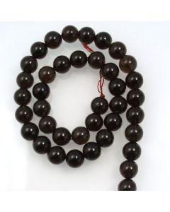 Smoky Quartz 10mm Round Beads