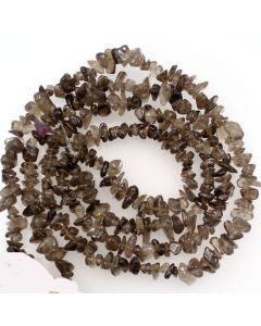Smoky Quartz 5x8mm Chip Beads