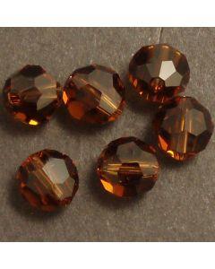 Swarvoski Crystal Round Cut Beads