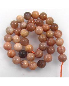 Sunstone 10mm Round Beads