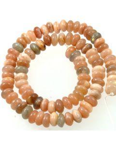 Sunstone 5x8mm Rondelle Beads