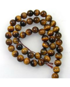 Tigereye 8mm Round Beads