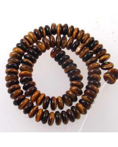 Tigereye 4x10mm Rondelle Beads