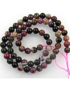 Tourmaline 6mm Round Beads