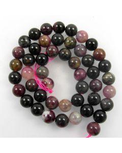 Tourmaline 8mm Round Beads