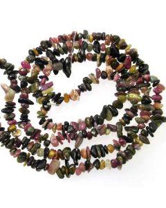 Tourmaline 5x8mm Chip Beads