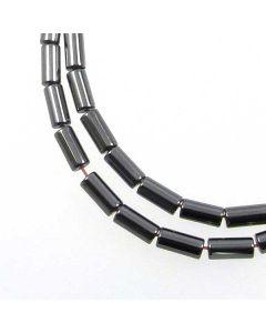 Hematite 4x8mm Tube Beads
