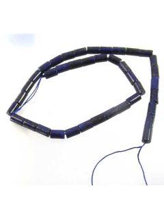 Lapis Lazuli 6x10mm Tube Beads