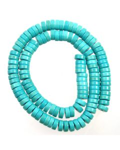 Turquoise (Reconstituted) 3x8mm Slice  Beads