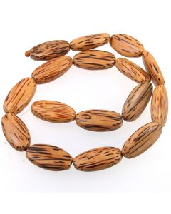 Palmwood Oval Beads