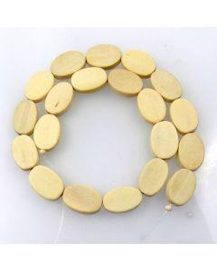 Natural White Wood Beads