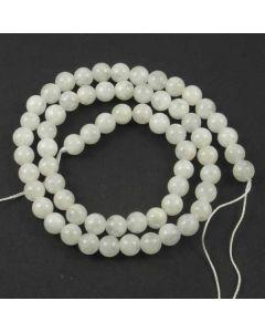 Moonstone WHITE 6mm Round Beads